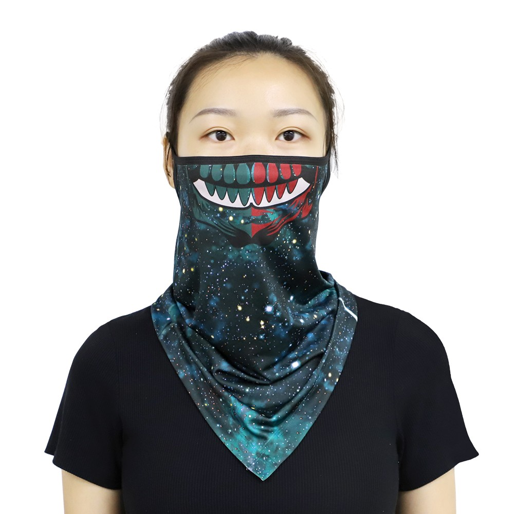 Gaiter Mask with black strip -Universal size