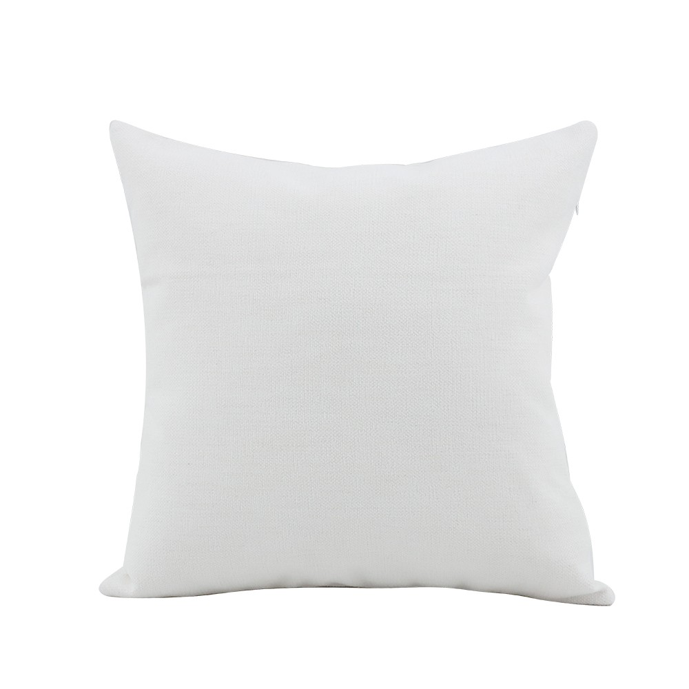Soften Linen Pillow Case White 30*30CM