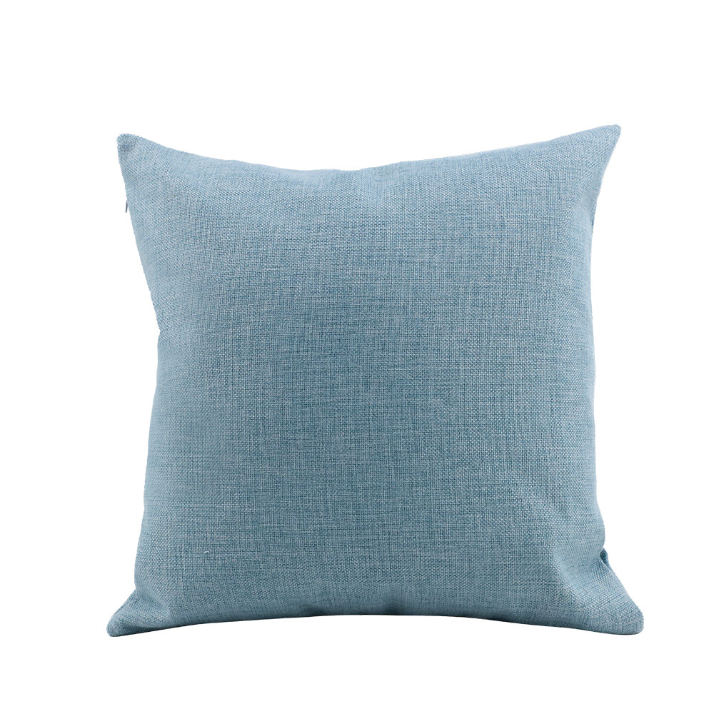 Linen Pillow Case -Light Blue